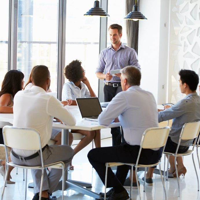 Sales Meeting smaller